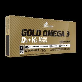 GOLD OMEGA 3 D3 + K2 SPORT EDITION - 60 CAP.