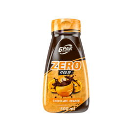 SYRUP ZERO CHOCOLATE ORANGE - 500ml