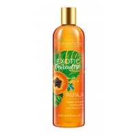 Bath and Shower Oil Papaja EXOTIC Paradise - 400ml